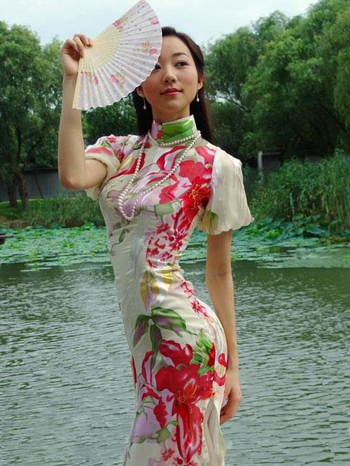 nét đẹp phương Đông Qipao_girl
