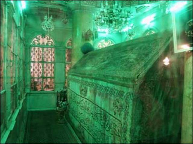 Grave of Prophet John The Baptist, pbuh
