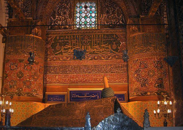 Grave Of Saint Rumi, Konya