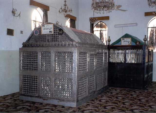 Graves of Junaid Baghdadi and Khwaja Sirri Suqti